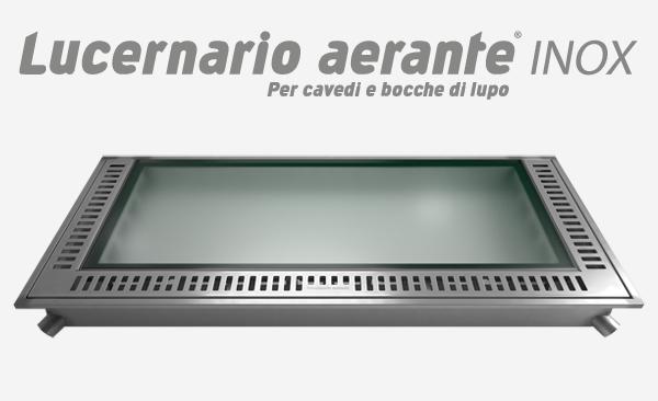 Lucernario Aerante INOX